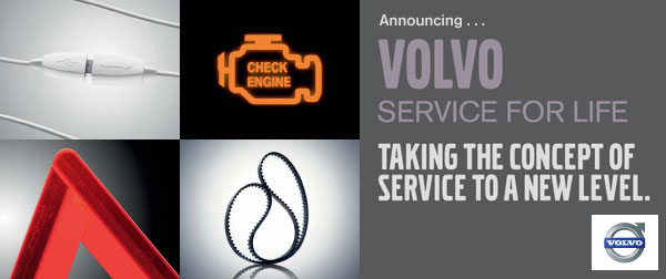 Announcing Volvo Service for Life